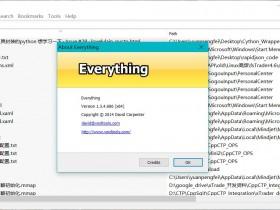 【精品软件】windows系统最强大搜索工具Everything