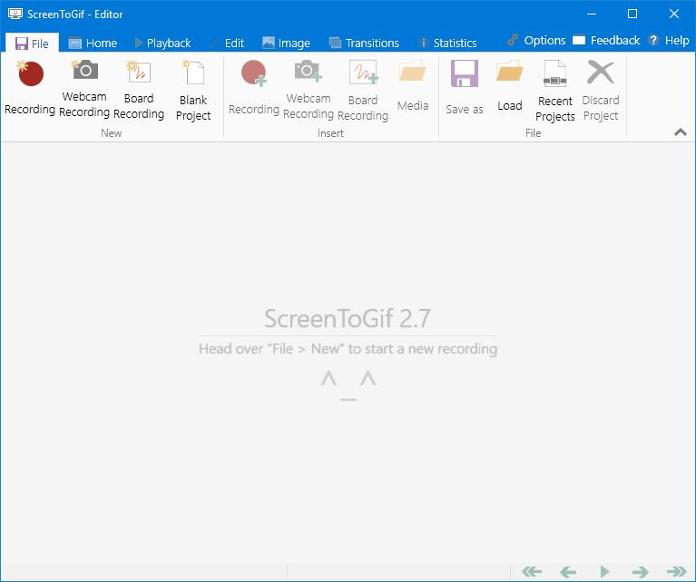 【精品软件】windows下超级好用的gif截屏工具ScreenToGif