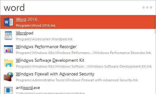 【精品软件】Windows下超级好用的程序启动器搜索工具Listary